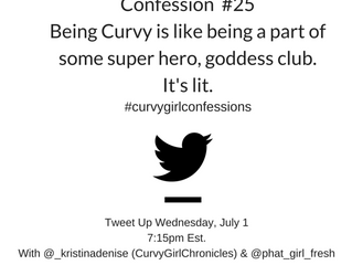 Curvy Girl Confessions - Tonight on Twitter