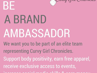 Be a Brand Ambassador for Curvy Girl Chronicles
