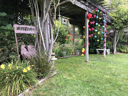 Outdoor Garden Yoga   Aligned Vinyasa Flow
