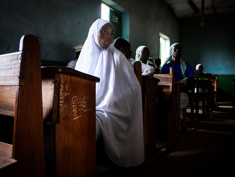 Crisis of girls' education in Nigeria, during the pandemic - by Richard Juilliart