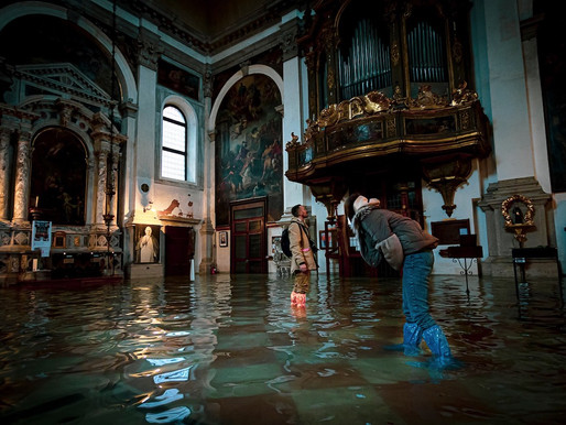 Flooded Streets of Venice : Natalia Elena Massi captures the impact reality of global warming
