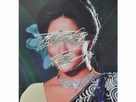 """""""Female faces in posters commonly are scrapped or overwritten"""", photos by Sudeepto Salam"""