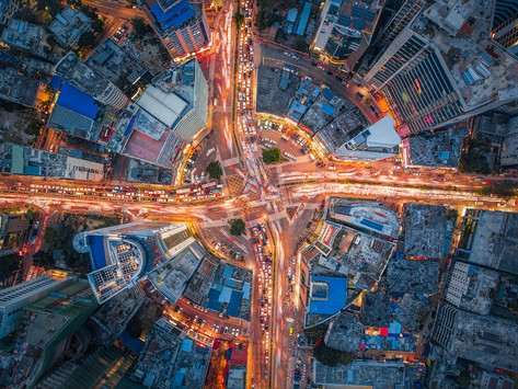 Dhaka , City of lights, city of dreams for millions : amazing cityscapes by Meer Sadi