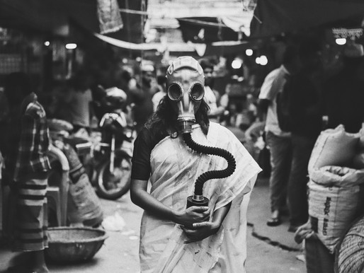 """Haunted photos symbolise the """"living being dead in a city"""" by Avishek"""