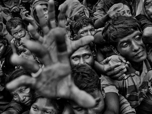 Striking Images by Rahul Talukder : Rohingya - Living in Exile