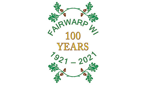 New WI Centenary Commemorative Sign