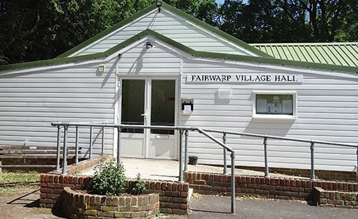 Fairwarp Village Hall - COVID19 August Update