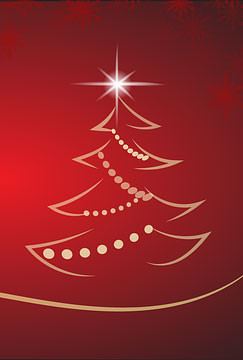 Help decorate the village Christmas tree