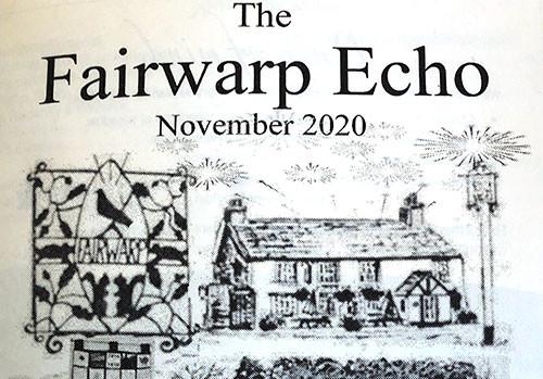 Echo feature on pub fund raiser