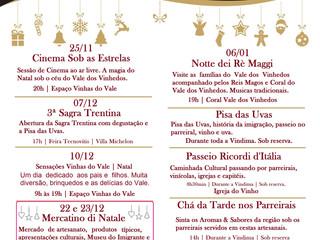 Encanto Trentino com ampla programação de Natal