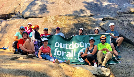 TRAILS Rock Climbing with Outdoors For All