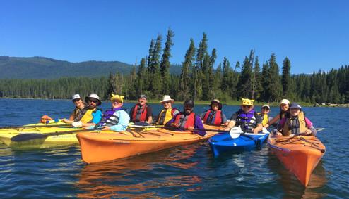 TRAILS Canoe Trip at Lake Wenatchee