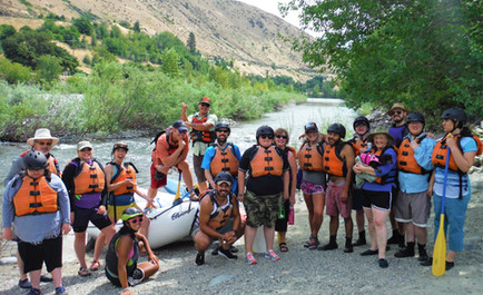 TRAILS Rafting Trip with Outdoors For All
