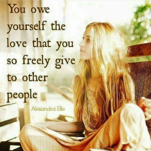 You owe yourself the love