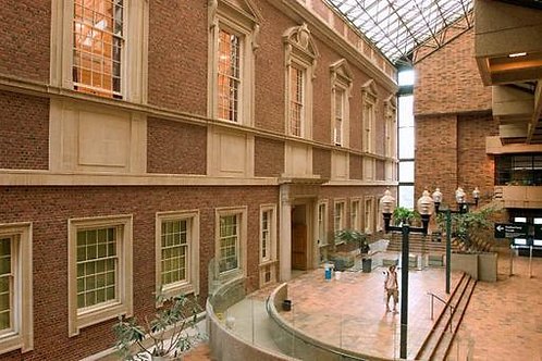 Rutherford Library Atrium