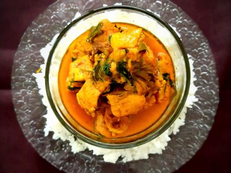 "Mum's ""Junglee"" Chicken Curry"