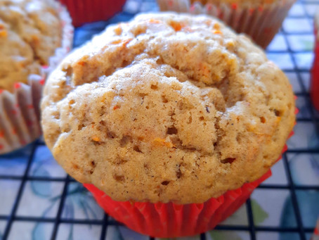Chai-spiced carrot-cake muffins