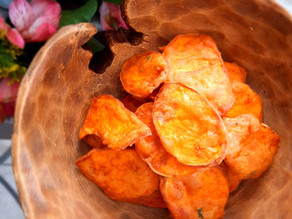Guest Recipe! Sweet Potato Pakoras!