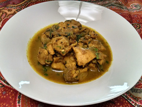 Mum's Famous Chicken Curry