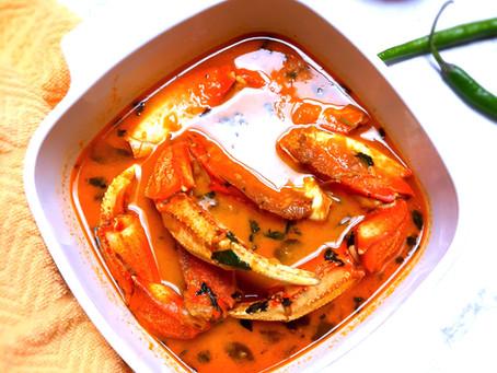 Mum's Coconut Crab Curry!