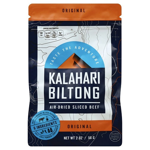 Original Kalahari Biltong, Air-Dried Thinly Sliced Beef