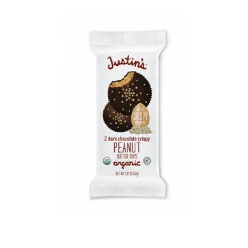 Justin's Dark Chocolate Crispy Peanut Butter Cups