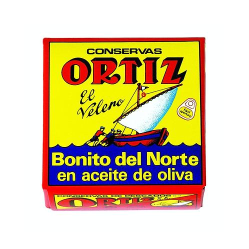 Ortiz White Tuna In Olive Oil 3.24 oz