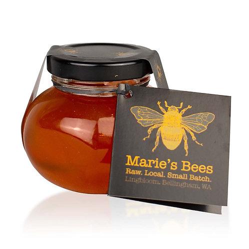 Marie's Bees Little Squaty PNW Raw Honey 4 oz