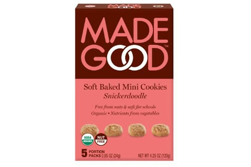 Organic Snickerdoodle Soft Baked Mini Cookies - 4.25 oz