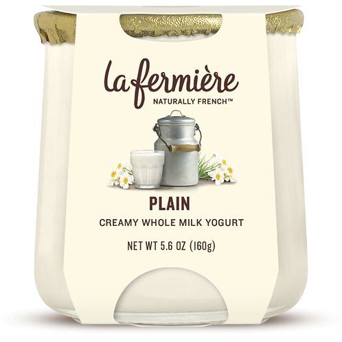 La Fermiere Creamy Whole Milk Yogurt Plain