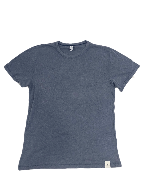 Men's Hem Tag Shirt - Blue