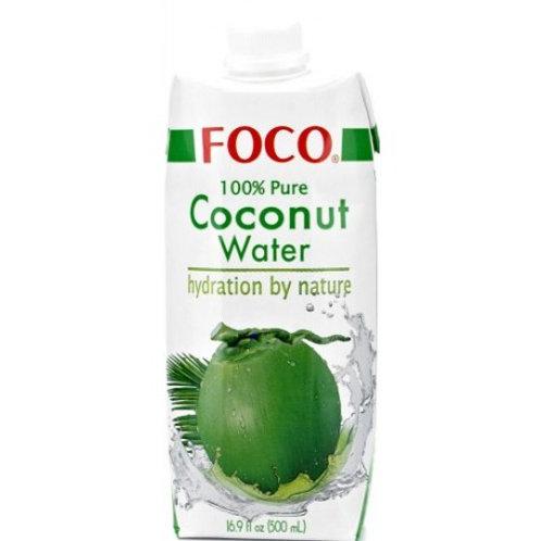 FOCO Organic Coconut Water- 500 ml