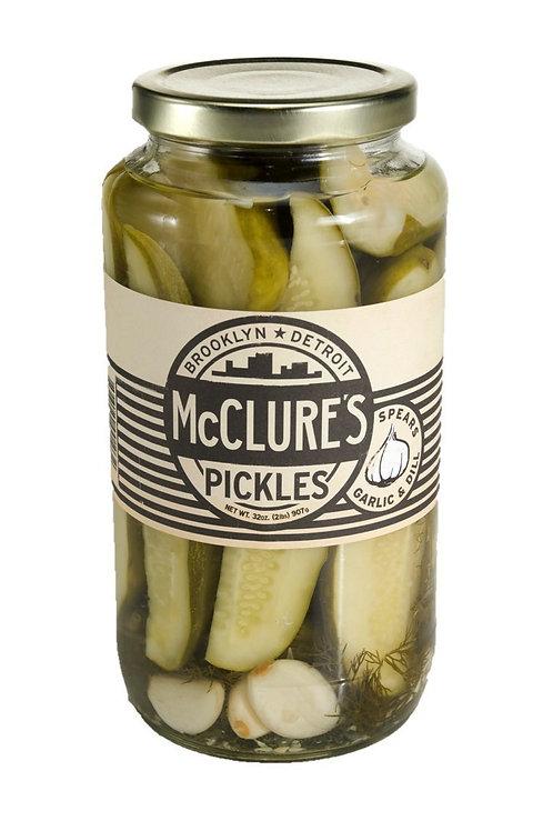 McClure's Garlic Dill Spears 32 oz