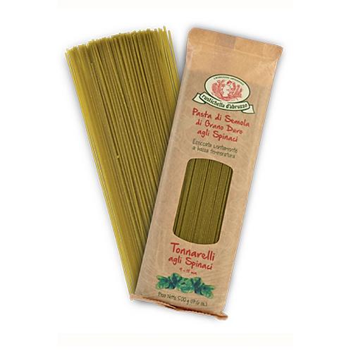 Tonnarelli with Spinach - Rustichella d'Abruzzo