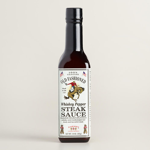 Old Fashioned Whiskey Pepper Steak Sauce