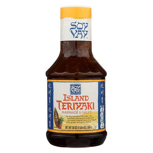 Soy Vay Island Teriyaki Sauce 20 oz