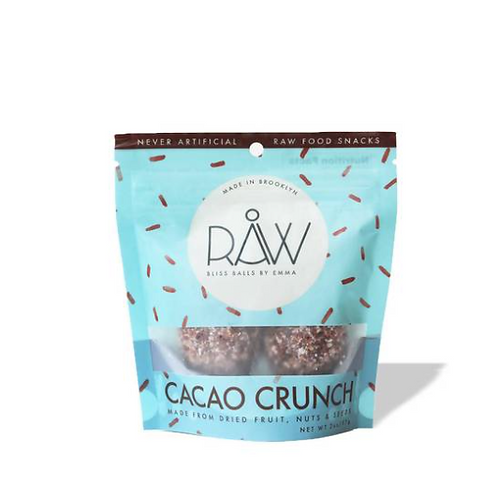 Raw Bliss Balls - Cacao Crunch