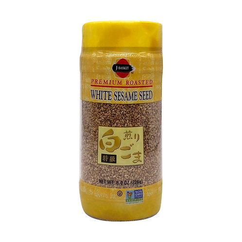 JFC Roasted White Sesame Seeds 8 oz