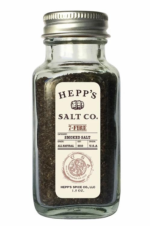 Hepp's Salt Co. Roasted Garlic Natural Blend