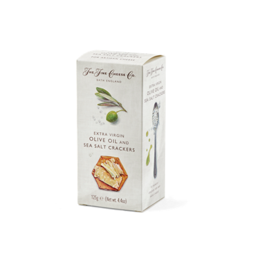 Fine Cheese Crackers - Olive Oil Sea Salt