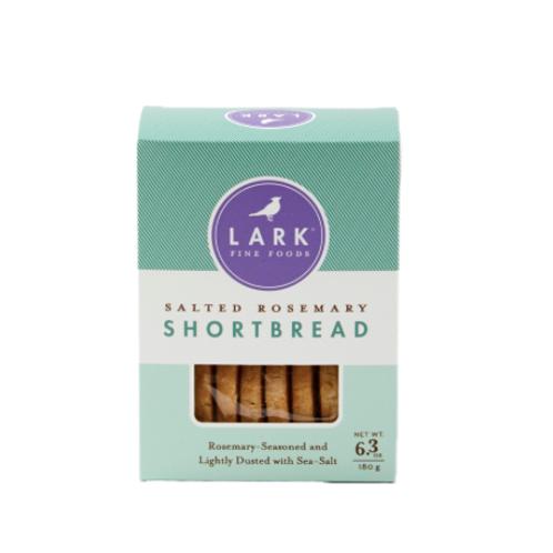 Lark Fine Foods - Salted Rosemary Shortbread