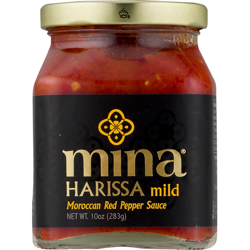 Mina Harissa Harissa Sauce Moroccan Red Pepper Mild