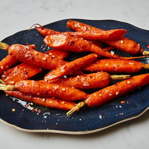 Maple-Roasted Carrots