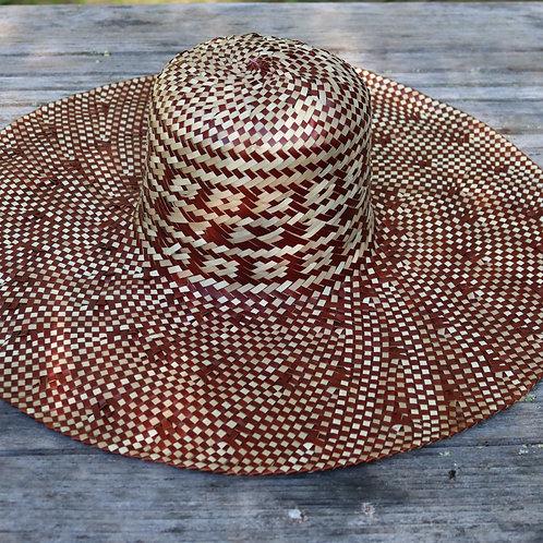 Large Sun Hat - Brown
