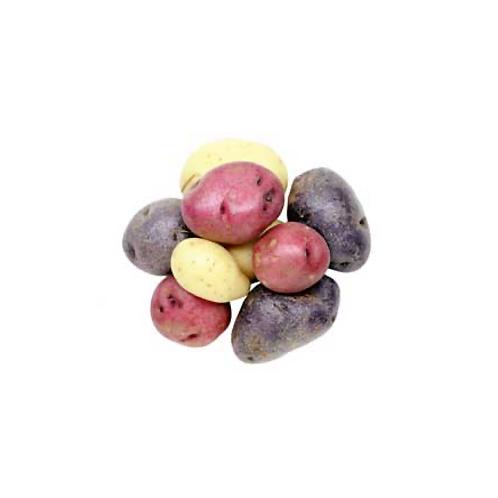 Rainbow Marble Potatoes, per pound