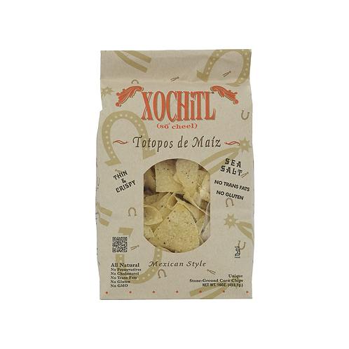 Xochitl Corn Tortilla Chips, Salted