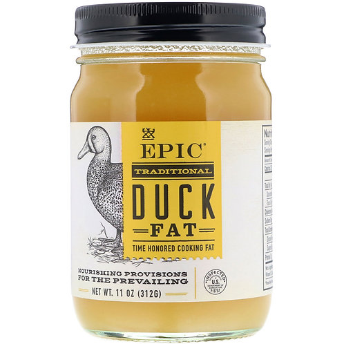 Epic Bar, Traditional Duck Fat, 11 oz