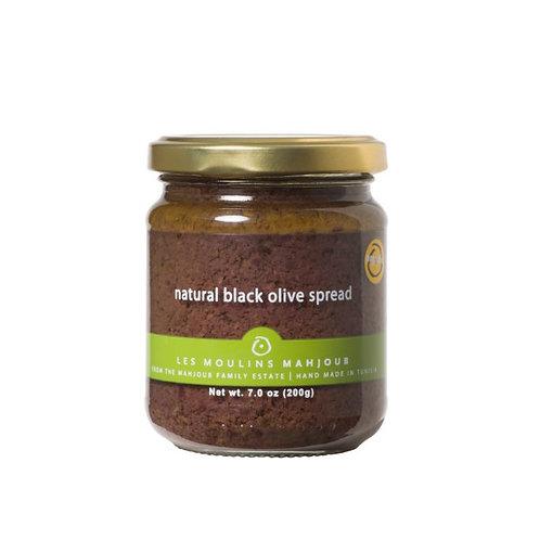 Les Moulins Mahjoub - Natural Black Olive Spread (organic)