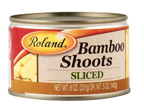 Sliced Bamboo Shoots 8 oz