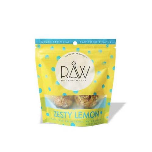 Raw Bliss Balls - Zesty Lemon